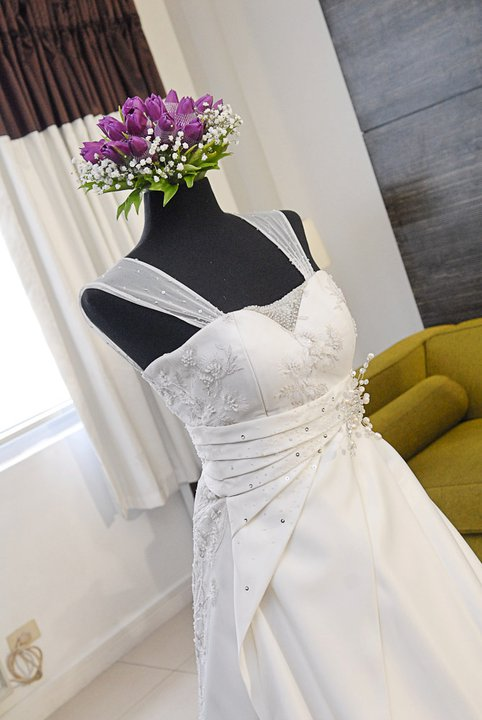 Camille garcia Beaded Wedding Dress