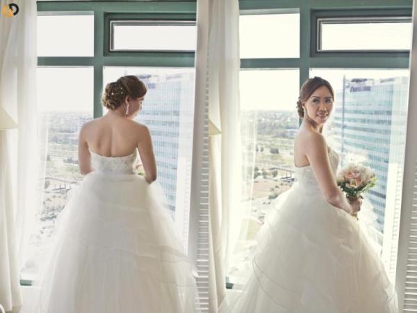 Blushing Bride Ann