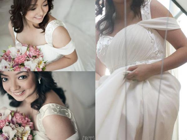 blushing bride patricia lota