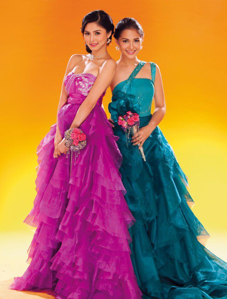 Kim Chiu and Maja Salvador on the Cover of Wedding Insights ...