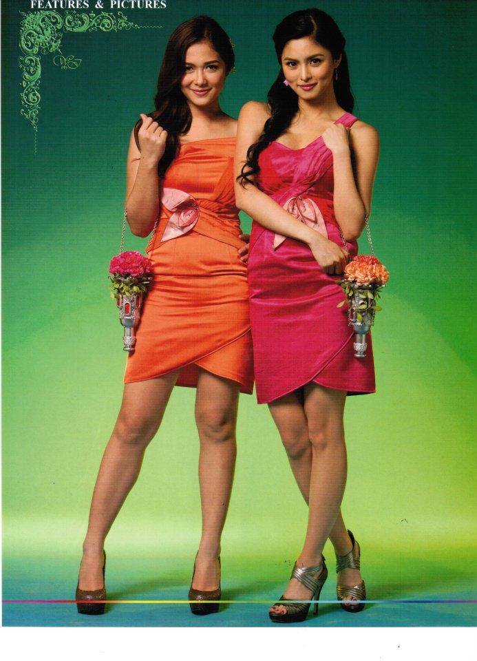 Kim chiu wedding dress in tayong dalawa episode