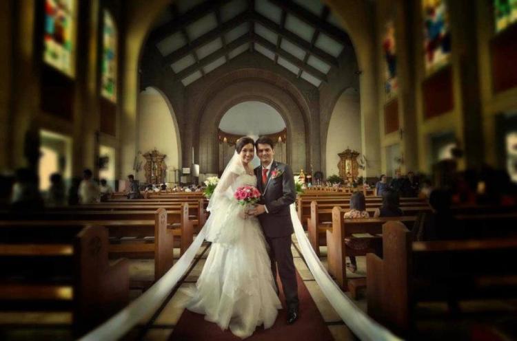 Camille Garcia Wedding Dress Ruffled