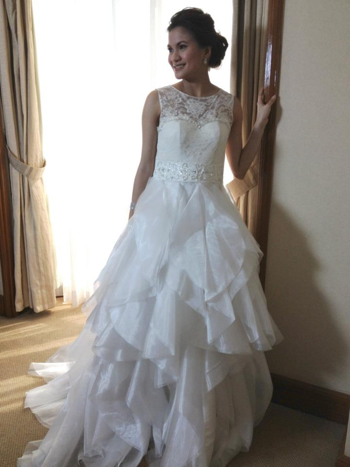Camille Garcia Wedding Gown