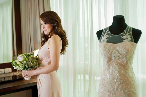 Blushing Bride Kimberly