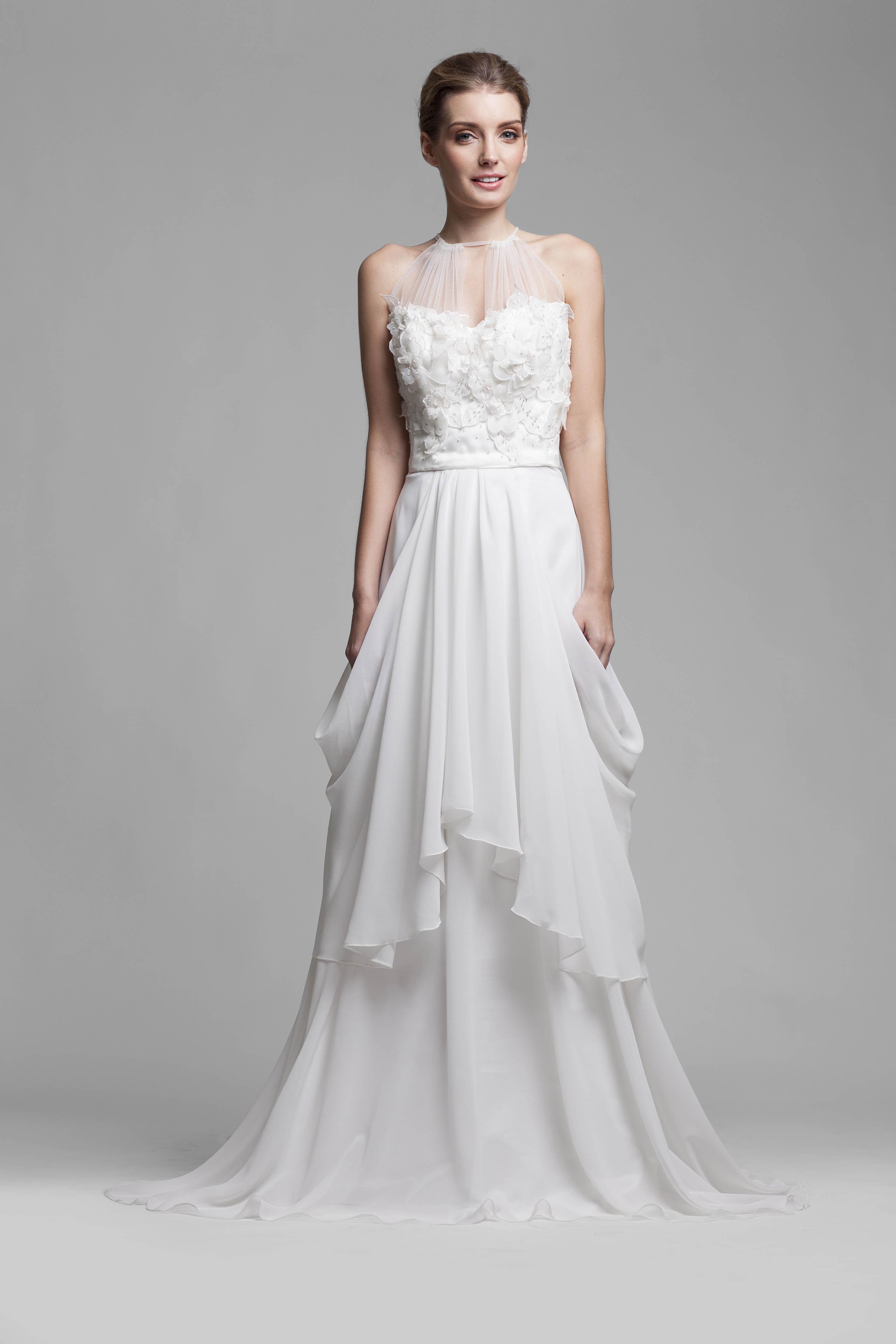 Famous high end wedding dress designers ornament for High end designer wedding dresses