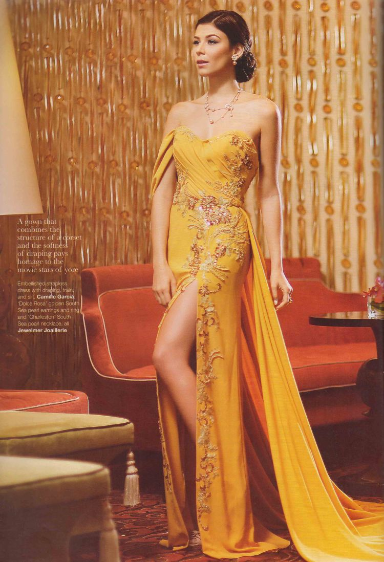 Asian Dragon 2016_Yellow Gown