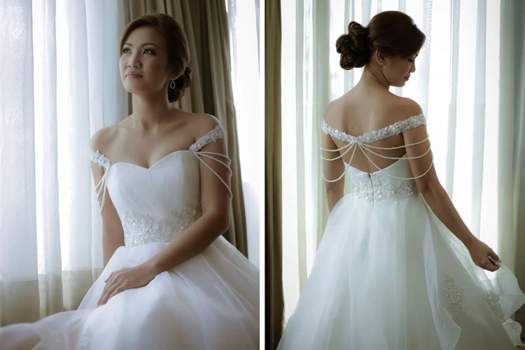 Camille Garcia Bridal Gown Mary Grace